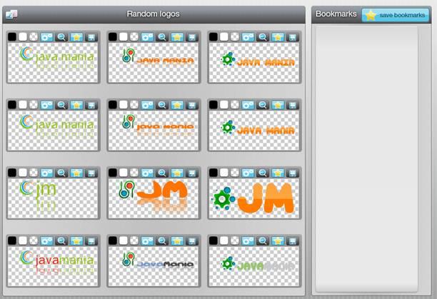 Logotype maker generador de logos online un poco de for Generador de logos