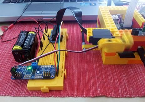 Control de Servos con Java y Raspberry PI mediante I2C – Un